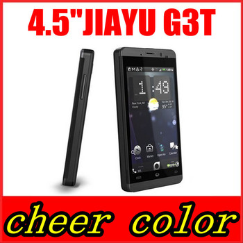 "3000MAh Original Jiayu G3C G3 MTK6582 1.3ghz Quad Core Android 4.2 4.5"" IPS Gorilla Screen 1GB RAM 4GB ROM WCDMA 3G phone"