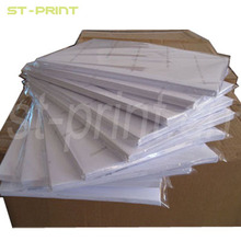A4 sized inkjet heat transfer paper for light color 100% cotton garment printing, availble with free shipping(China (Mainland))