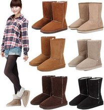 Comfort warm snow boot for women winter fur boots,free shipping(China (Mainland))