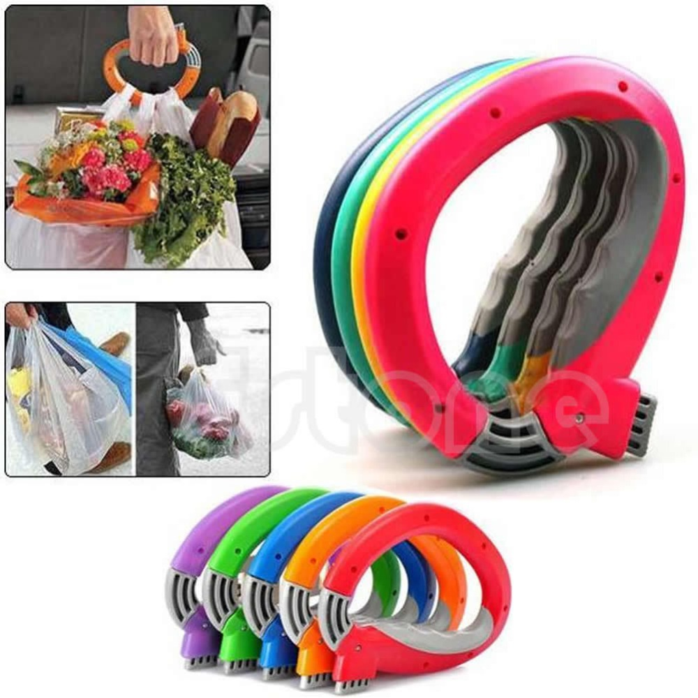 one trip grip grocery bag holders locks bags together bearable 22.5kgs housewife necessary Environment-keeping Free shipping(China (Mainland))