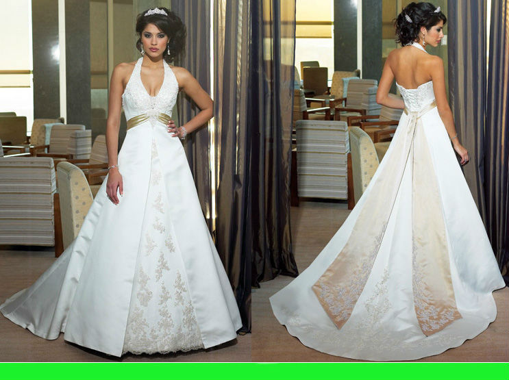 Wd168 famous designer wedding dresses under 100 white and for Brown dresses for a wedding