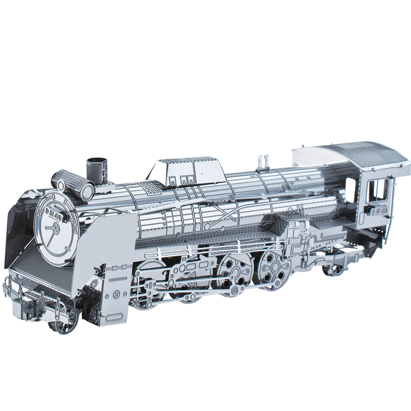 Japan Locomotive D51 Car Styling Fun 3d Metal Diy Miniature Model Kits Puzzle Toys Children Educational Boy Splicing Science(China (Mainland))