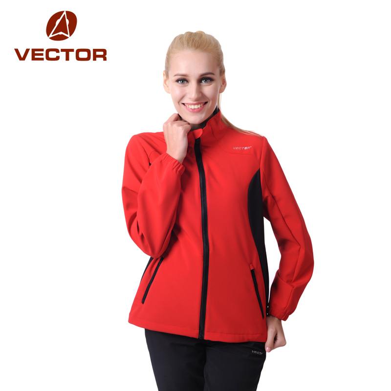 VECTOR Softshell Jacket Women Windproof Waterproof Outdoor Jacket Women Camping Hiking Jackets Rain Windstopper 60002(China (Mainland))