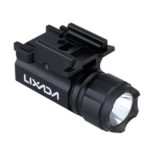 LIXADA 600LM 2-Mode LED Tactical Gun Flashlight Handgun Torch Light XP-G R5 LED(China (Mainland))