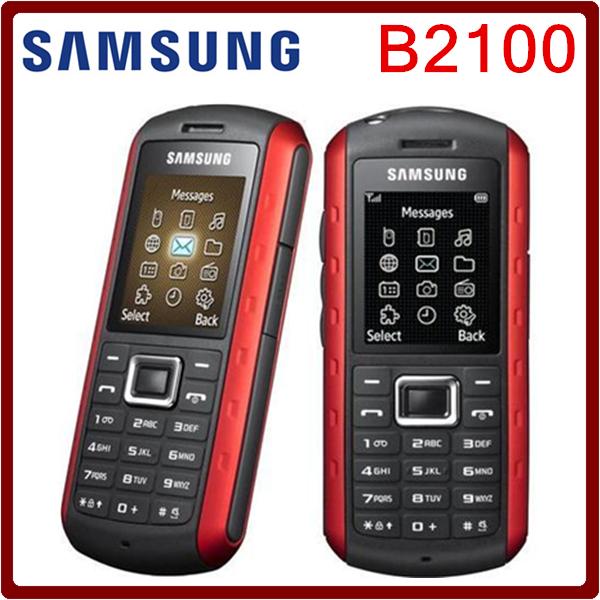 B2100 Original Unlocked Samsung B2100 1000mAh 1.3MP 1.77 Inches 3G Waterproof Refurbished Cellphone Free Shipping(China (Mainland))