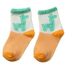 New Infant Toddler Kids Baby Cotton Animal Print Ankle Socks Child 2-3Y Hot