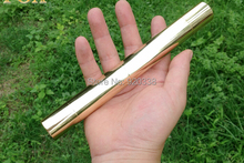 50000mW/ 50W burning focusable HEAVY DUTY blue laser pointer (5 star caps) with brass housing uses 18650 batteries not include