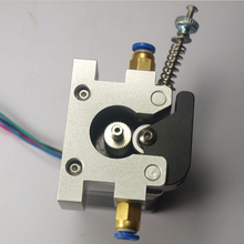 3 D printer parts up-grade DIY Reprap Kossel all-metal 42 stepper motor bowden extruder alimunum alloy for 1.75/3 mm filament
