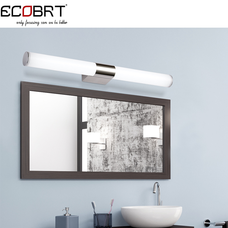 Bathroom Lighting Around Mirror Excellent White Bathroom Lighting Around Mirror Styles: Book Of Bathroom Lighting Warm Or Cool