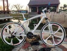Buy 26*17 inch aluminium alloy frame bicycle bicicleta mountain bike 21 speed disc brakes tall man MTB road bike for $349.45 in AliExpress store