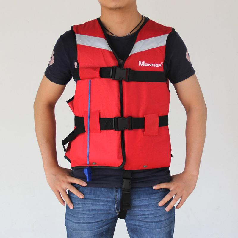 adult nylon life vest life jacket boating jacket fishing vest pfd for kayaking canoeing drifting rubber boat(China (Mainland))