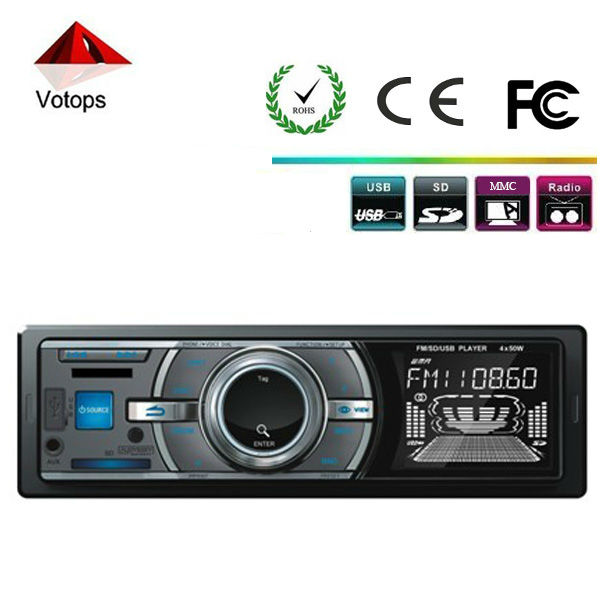 High Quality car MP3 player LCD Displayer with USB port / SD card slot Clock/ FM/AM Function(China (Mainland))