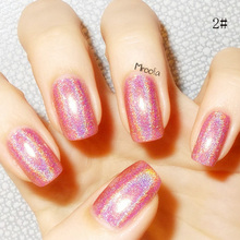 1 Bottle Holographic Nail Polish Long Lasting Holo Gel Nail Polish Nail Hologram Breathable Nailpolish Gel Polish Elite #81661(China (Mainland))