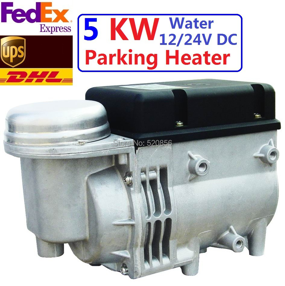 Free Shipping Newest 5kw 12V 24V Water Diesel Heater For Car With Similar Webasto Auto Parking Heater High Quatity(China (Mainland))