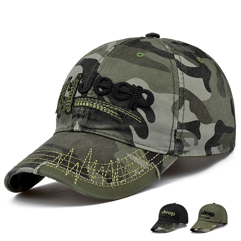 High quality male camouflage baseball caps men summer outdoor embroidery military sun hat lady army green peaked cap(China (Mainland))
