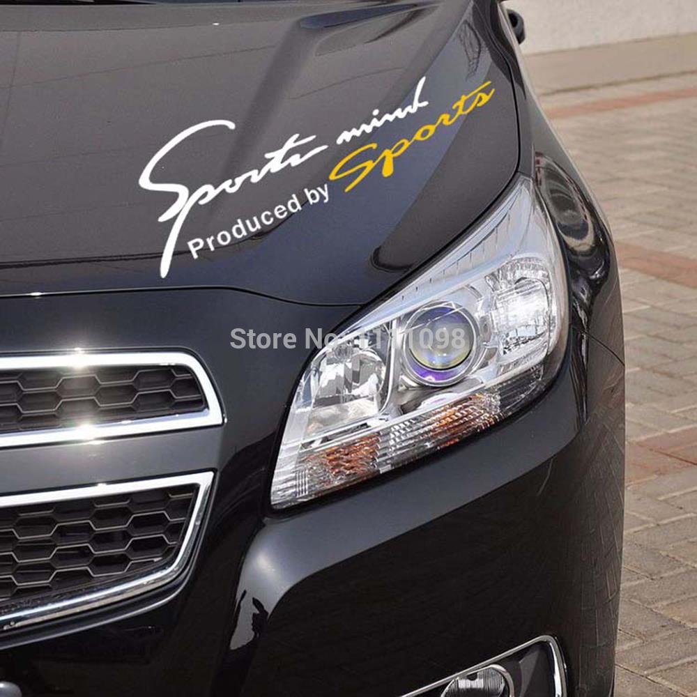 Car sticker design for sale - Sports Mind Car Stickers Sports Mind Produced By Sport Car Eyelids Decal For Toyota Ford Chevrolet