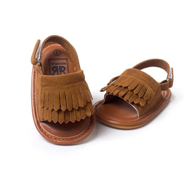 2016 Новый Летний Стиль Детские девочку обувь, Кистями детская обувь фирменная, Мягкое ...
