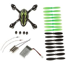 Replacement Spare Parts Black/Green Crash Pack for Hubsan X4 H107C Quadcopter