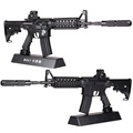 Metal Toy Gun M4A1 Pistol With Silencer Guns Juguetes Arma De Brinquedo Armas de Metal