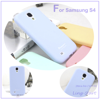 10pcs/lot Lovely Sweety Candy Color Android Cellphone Back Case Cover For Samsung Galaxy S4 I9500 For Wholesale&Retail