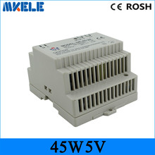 Buy Low price switching power supply DR-45-5 LED Din Rail mounted Power Supply Transformer 110V 220V AC DC 5V 9A 45W Output for $10.17 in AliExpress store