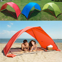 Sun Shelter Beach Canopy Summer Outdoor UV Tarp Sun Shade Unlined Camping Fishing Awning Sun Shelter Beach Tent Canopy
