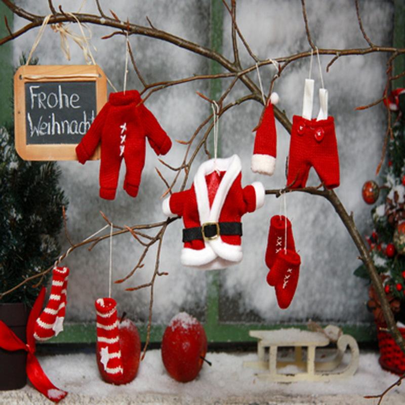 10x10FT Ice Window Branch Red Boot Glove Clothes Yard Christmas Tree Custom Photo Studio Backdrop Background Vinyl 8x8 10x12(China (Mainland))