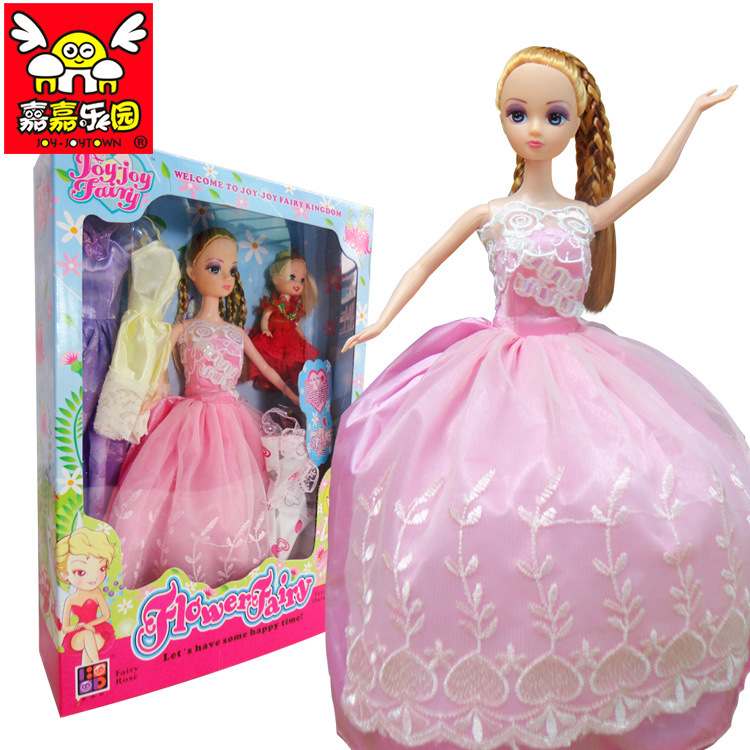 Gaga Paradise Flower Fairy Doll S2038 facelift for barbie doll cartoon girl toy gift(China (Mainland))