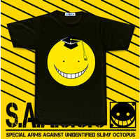 Hot New Ansatsu Kyoushitsu  Assassination Classroom Korosensei Anime Cotton T-shirt  $ 9.99 Free Shipping