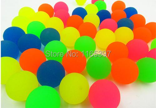 Bouncing ball transperente fun bounce stress ball novelty items product pinata toy loot party bag fillers wedding kid(China (Mainland))