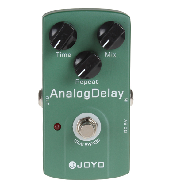 JOYO JF-33 True Bypass Analog Delay Guitar effect Pedal With Warm Output Tone
