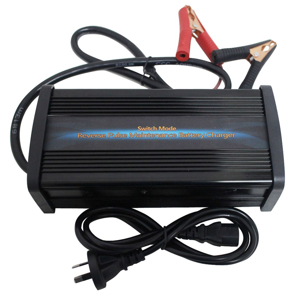 36V 22A Car E-bike Battery Charger Full Auto Switchable 7-step Charging Desulfator Battery Maintenance(China (Mainland))