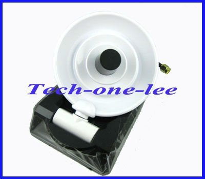 1pcs wifi antenna  2.4GHz 8dbi high gain wireless directional dish antenna with RP SMA male connector free shipping