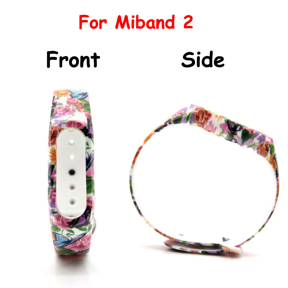 image for 11 Colors Strap For Mi Band  2 Silicone Belt For Xiaomi Strap Replacem