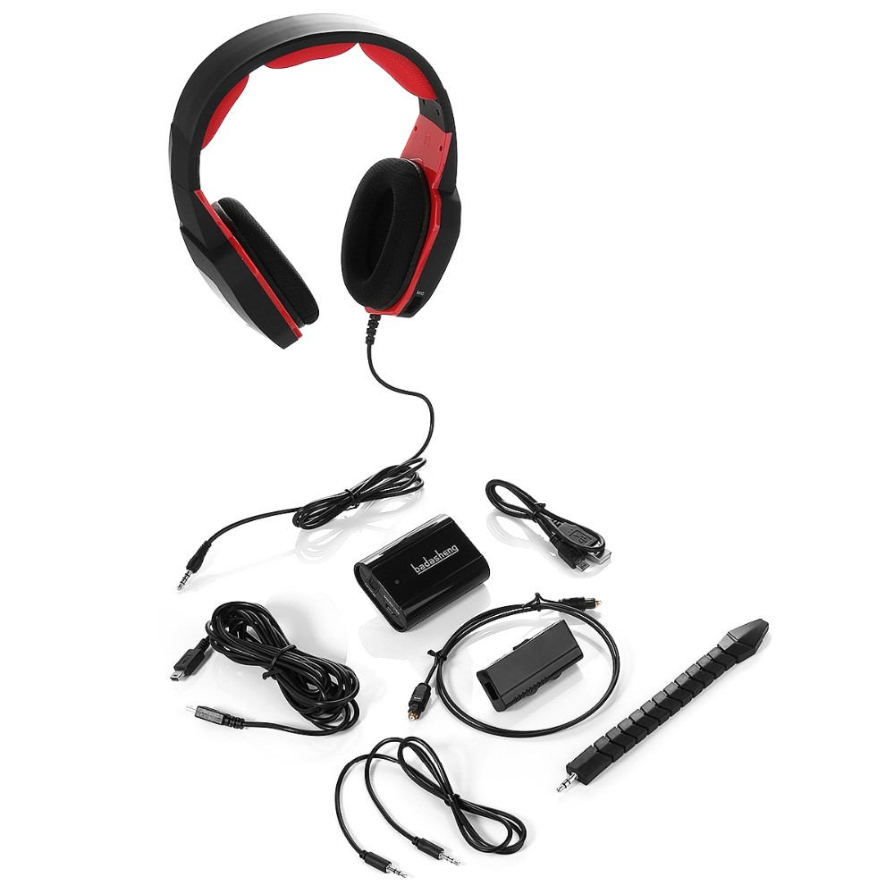 2017 NEW Mutil-function Optical Video Game Headset Gaming Headphone for PC/MAC /XBOX 360/PS3/PS4/xbox one free shipping China