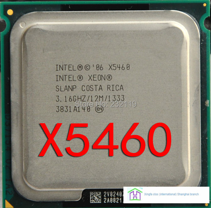 XEON X5460 hot sale free gift / free gift CPU 3.16GHz/12MB cache /1333MHz/LGA771 Quad Core Server Processor(China (Mainland))