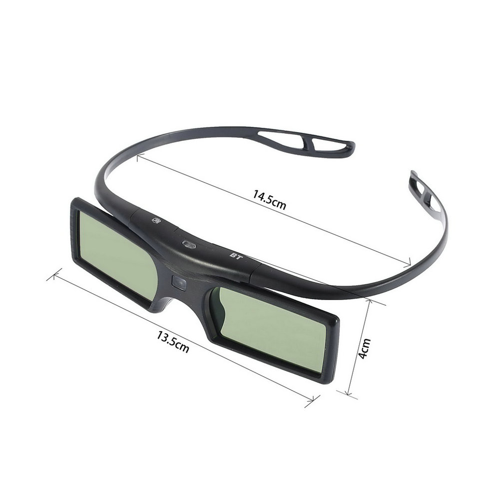 Hot New 2015 Bluetooth 3D Shutter Active Glasses for 3D for Samsung for LG TV HDTV Blue-ray Player(China (Mainland))