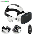 BOBOVR Z4 Pro Leather Version Virtual Reality VR 3D Glasses Headset BOBO Cardboard Helmet with Headphone