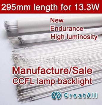 Free ship 20pcs 13.3'' inch wide sreen LCD CCFL lamp backlight tube,295MM 2.0MM, 13.3 inch wide sreen CCFL light