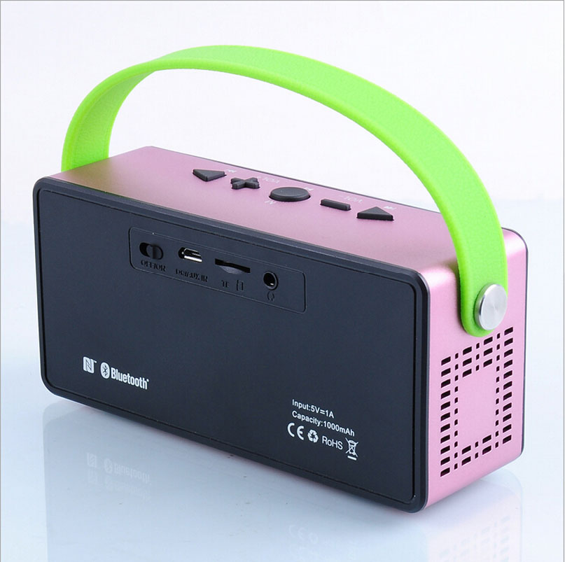 It has Bluetooth wireless player, super signal, long lasting power, Bluetooth various terminals of a portable Bluetooth speakers(China (Mainland))