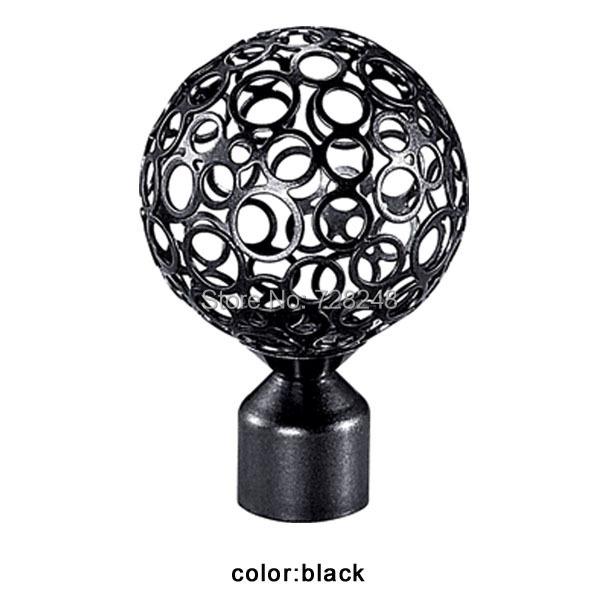 2014 vente chaude d corative tringle rideau en fer forg accessoires de cl tures pour windows. Black Bedroom Furniture Sets. Home Design Ideas
