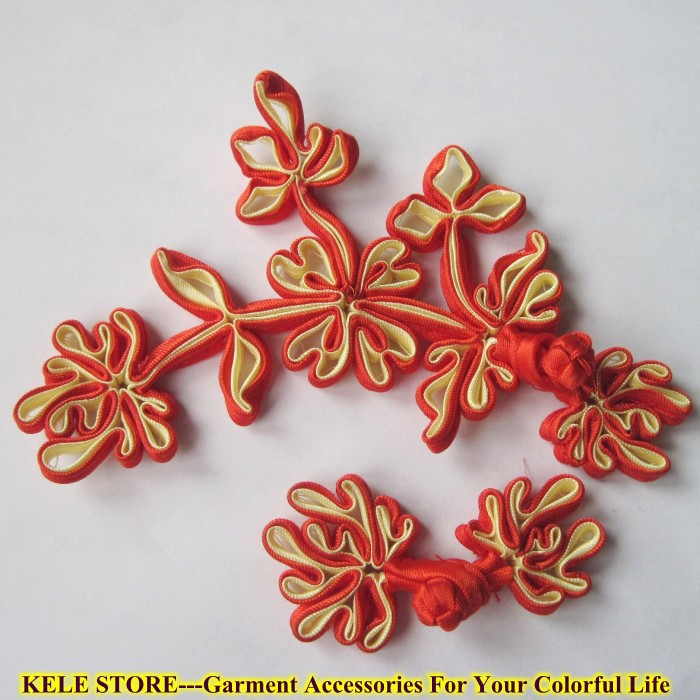 KELE STORE---Chinese Knot Button/Chinese Frog Button, For Tang suit cloth,Cheongsam, handmade, for cloth or bags.Beautiful(China (Mainland))