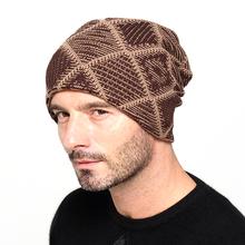 2015 New brand Winter Beanies men Knitted wool hat Warm Soft Beanie plus velvet Cap bonnet Gorros Caps For Men Women Turban hats(China (Mainland))