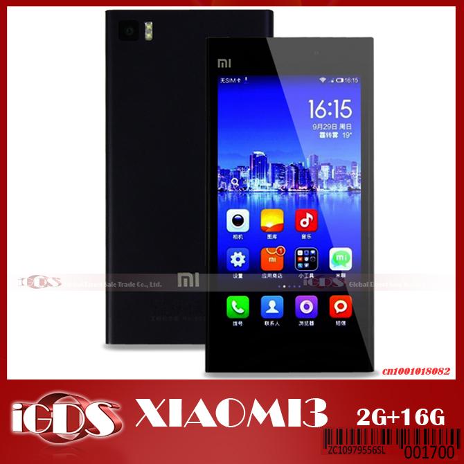 Мобильный телефон Xiaomi Mi3 3 800 2,3 5.0/ips 1920 * 1080 2 16 3G