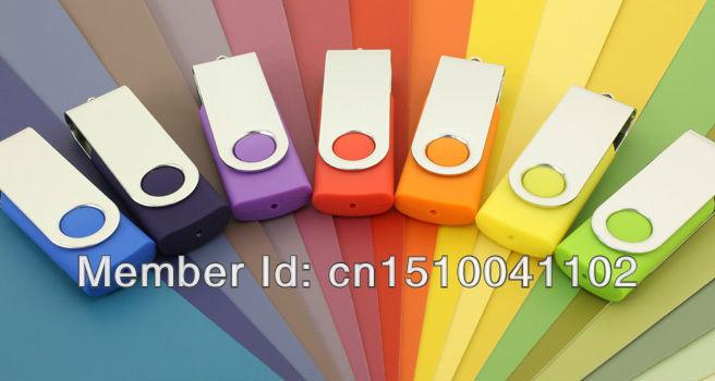 Hot sale rectangle u disk Plastic Swivel USB Flash Drive 2GB 4GB 8GB 16GB 32GB 64GB usb2.0 drive flash memory Spin S82(China (Mainland))