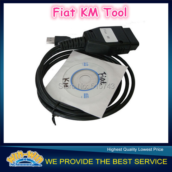 2015 Top Selling Quality A+++ Fiat KM Tool ODOMeter Mileage Correction Tool Fiat Diagnostic Fiat Scanner with Free shipping(China (Mainland))
