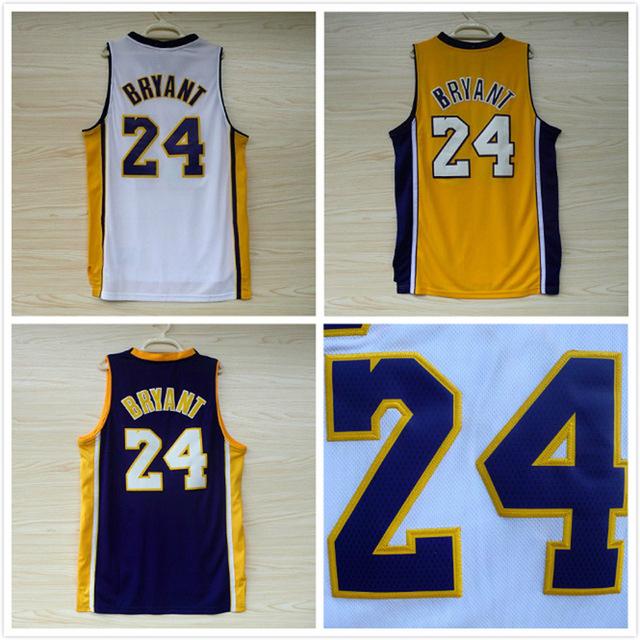 Aliexpress.com : Buy Kobe Bryant 24 Basketball Jersey, Cheap ...