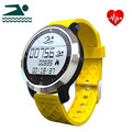 F69 Sport Bluetooth Smart Watch Waterproof Heart Rate Pedometer Sleep Monitor Data Calls Sync Swimming Wristband