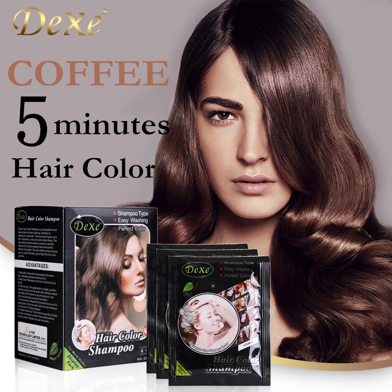Темное кофе цвет волос