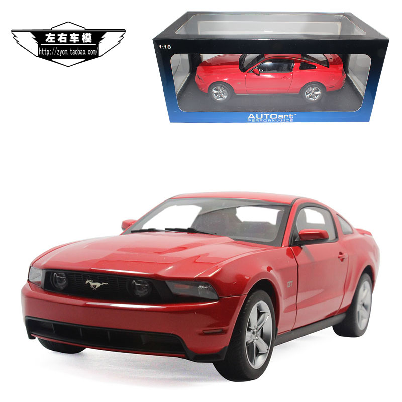Brand New AUTOart 1/18 Scale Car Model Toys USA FORD Mustang GT500 2010 Diecast Metal Car Model Toy For Collection/Gift(China (Mainland))